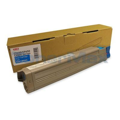 OKIDATA C9650 SERIES C7 TONER CART CYAN
